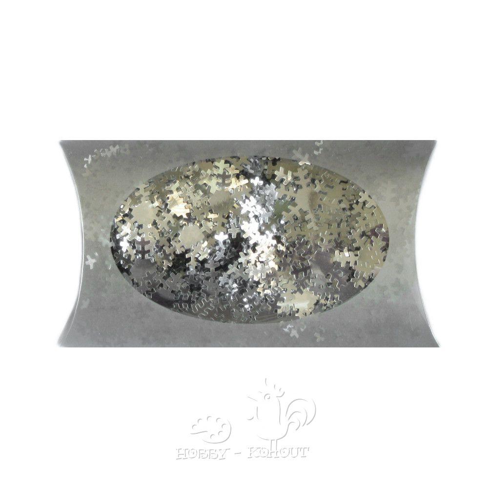 d95c57153080 Dekorace vločky stříbrné - hobbykohout.cz