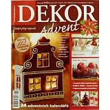 Časopis DEKOR Advent 2012