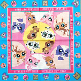Ubrousek na decoupage - vzor 0901 Littlest Pet Shop