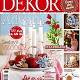 Časopis DEKOR Advent 2014
