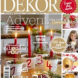 Časopis DEKOR Advent 2016